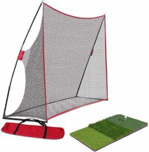 Nova Portable Golf Practice Net with Hitting Mat