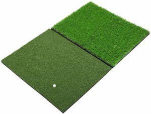 Sky Dual-Turf Golf Hitting Grass Mat
