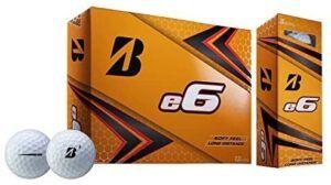 Bridgestone E6 Soft Balls