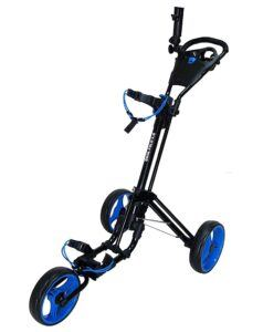 Qwik-Fold 3 Wheel Push Pull Cart