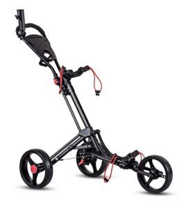 Tangkula 3 Wheels Pull And Push Cart