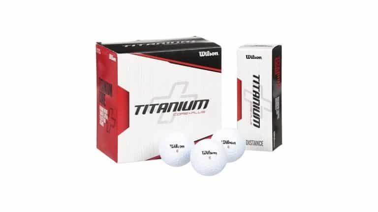 Wilson Titanium golf Ball