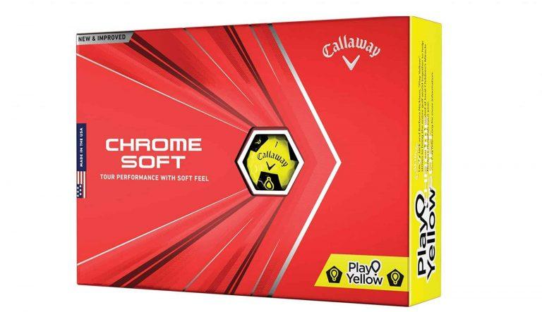 Callaway Chrome soft golf