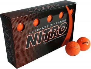 Nitro Ultimate Distance Golf Ball